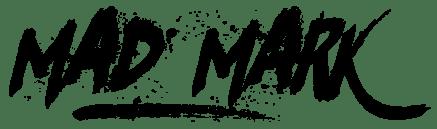 Mad Mark Logo [Black]